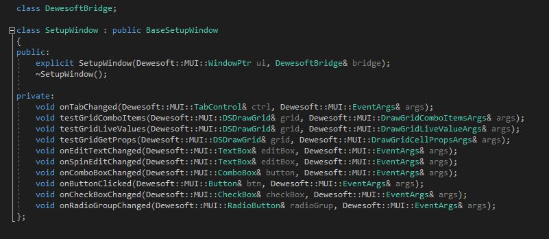 Advanced custom plugin development in C++