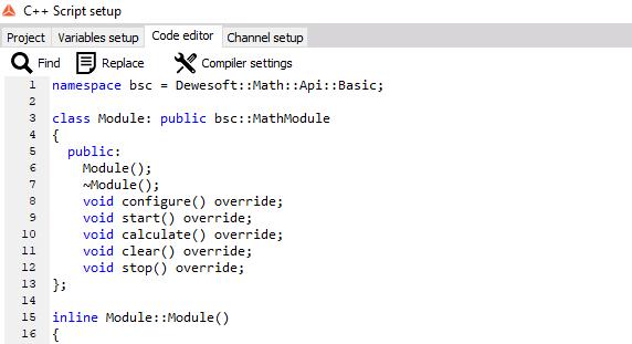 C++ Script