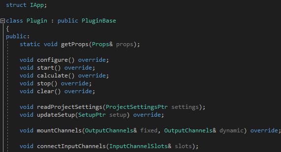 C++ Signal Processing Plugin