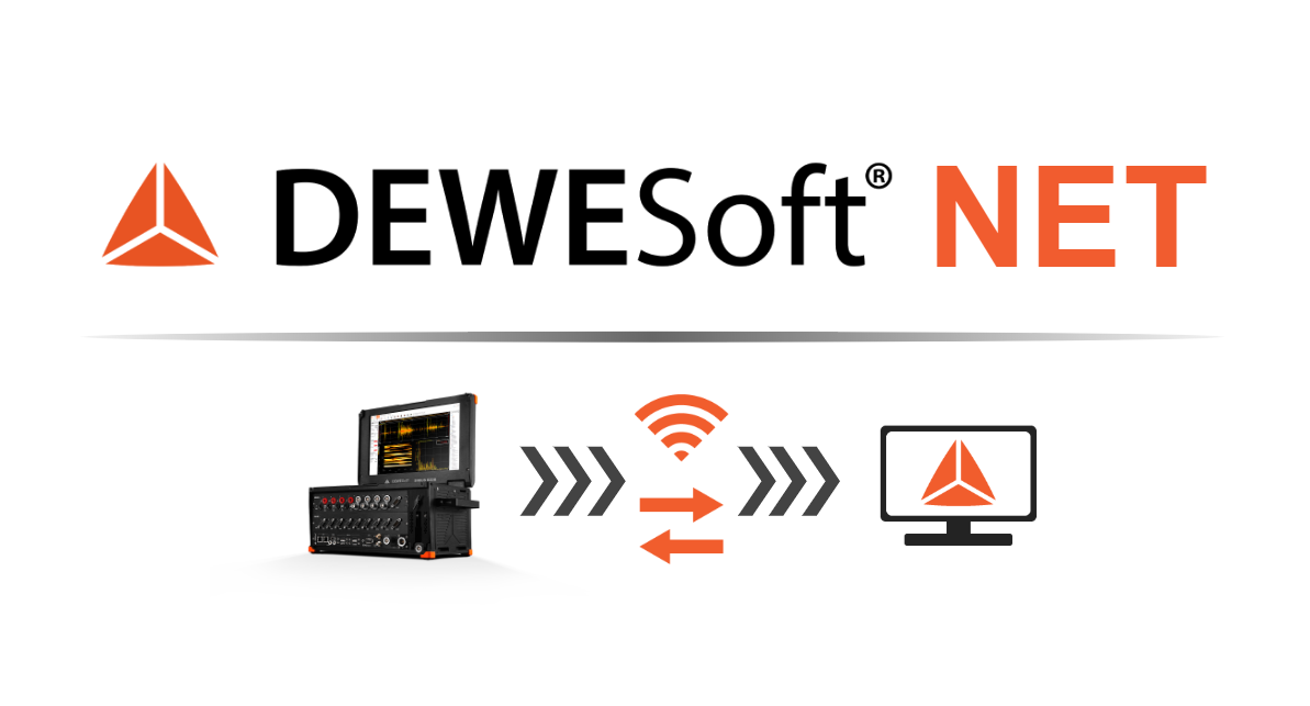 Network and Distributed Data Acquisition Using Dewesoft NET